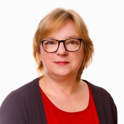 Frontoffice medewerker Monique de Frie van Human Concern